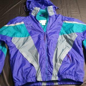 VINTAGE COLUMBIA Color Block Jacket